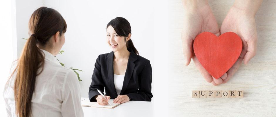 スタッフのサポート体制を確認する